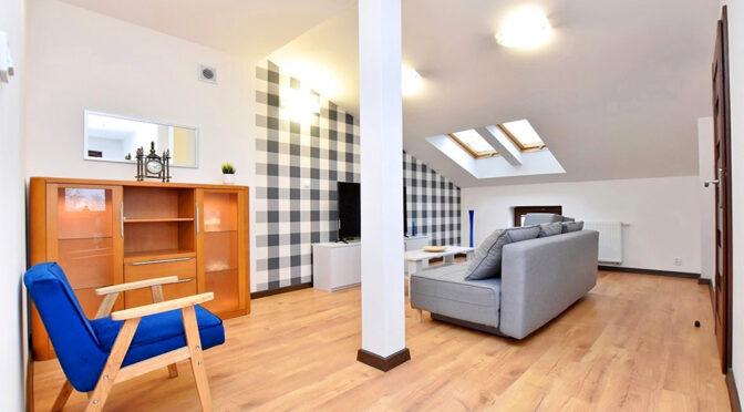 kameralne wnętrze ekskluzywnego apartamentu do wynajmu Inowrocław