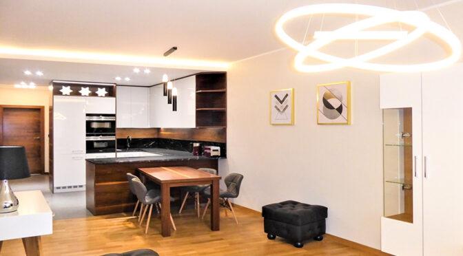 nowoczesne wnętrze luksusowego apartamentu do wynajęcia Częstochowa