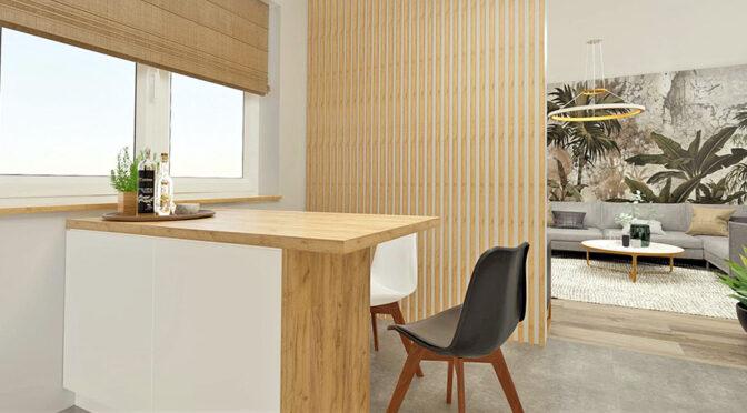 nowoczesna aranżacja wnętrza luksusowego apartamentu do sprzedaży Radomsko