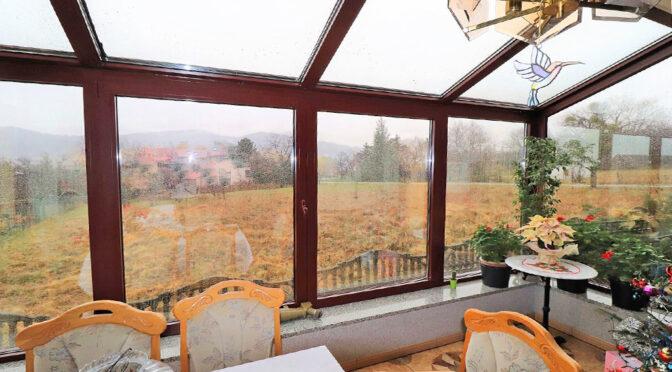 przepiękny taras i ogród zimowy w luksusowej rezydencji do sprzedaży Ustroń
